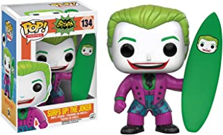 Funko Surfs Up! The Joker: Batman 1966 Classic TV x POP! Heroes Vinyl Figure & 1 POP! Compatible PET Plastic Graphical Protector Bundle [#134 / 10867 - B]