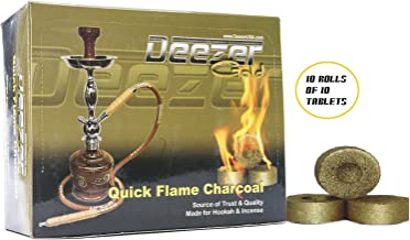 Golden Deezer Charcoal Coals- 100 Pieces