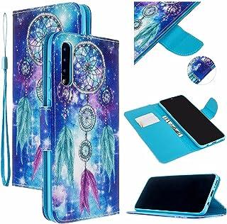 CRABOT Reemplazo para Samsung Galaxy A70 Funda de Cuero PU Plegable Cartera Cierre Magnético Ranura para Tarjeta Soporte P...