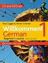 Willkommen! 1 (Third edition) German Beginner's course: CD and DVD set