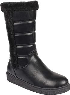 Flat n Heels Womens Black Boots FnH 1710-A2-BK