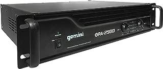 Gemini GPA-2500 3000W Professional DJ Power Amplifier