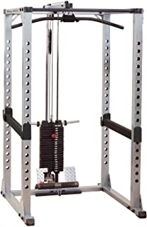 Body-Solid GPR378 Power Rack with Lat Attachment GLA378