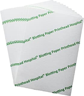 Heavyweight Blotting Paper 8x6 (10 Sheets) for Calligraphy and Inkjet Printer Cleaning