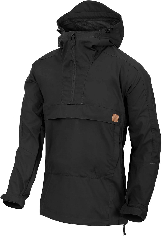 Helikon-Tex Men's Woodsman Anorak Jacket Black