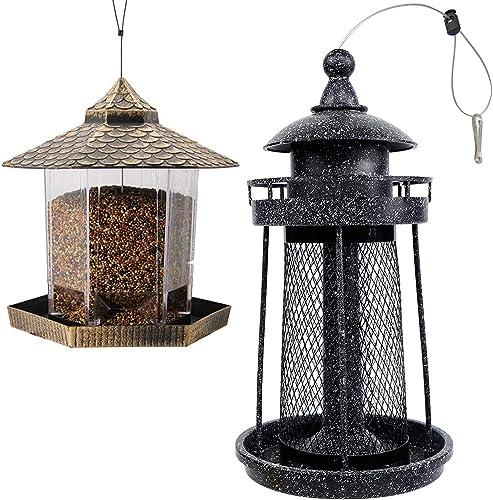 lowest Twinkle online Star Wild Bird Feeder | Wild online Bird Feeder, Lighthouse Shaped, Black online