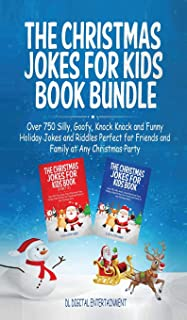 The Christmas Jokes for Kids Book Bundle: Over 750 Silly, Goofy, Knock Knock and Funny Holiday Jokes and Riddles Perfect for Friends and Family at Any Christmas Party