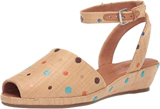 Women's Lily Ankle Wrap Low Wedge Sandal
