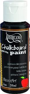 DecoArt Americana Gloss Enamels Chalkboard Paint, 2-Ounce, Black Slate