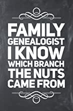 Family Genealogist I Know Which Branch The Nuts Came From: Lined Journal