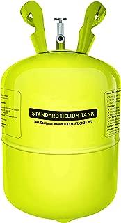 Party Balloon Helium Tank - 30 Balloons Kit, Yellow