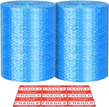 Bubble Cushioning Wrap - Bubble Cushioning Wrap for Moving with Perforated Every 12'', Easy to Tear, Small Bubble, Thicker & Durable forPacking, Delivering & Moving (Total 12'' x70 Feet, 35'/Roll)