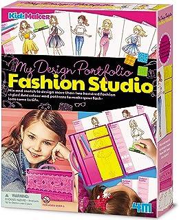 4M My Design Portfolio Fashion Studio Toy for Girls