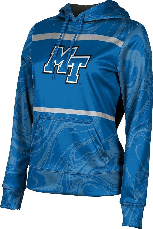 ProSphere Middle Tennessee State University Girls' Pullover Hoodie, School Spirit Sweatshirt (Ripple)