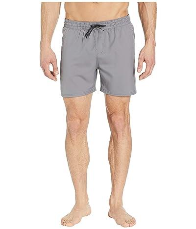Nike 5 Solid Vital Volley Shorts (Gunsmoke) Men