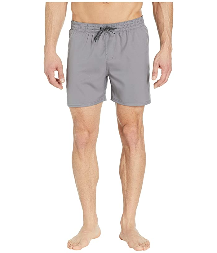 Nike 5 Solid Vital Volley Shorts (Gunsmoke) Men