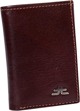 Laveri Bill and Card Holder Wallet for Unisex - Leather, Brown