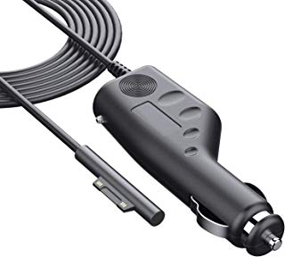 Surface Car Charger Surface Pro Car Charger 6ft,Meou Magnetic Suction Interface Car Charger for Microsoft Surface Go Surface Pro 3 Pro 4 Pro 5 Pro 6 Book Surface Laptop 2 36W 12V 3A Car Accessorie