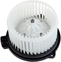 HVAC plastic Heater Blower Motor w/Fan ABS Cage ECCPP Replacement fit for 2000-2005 Toyota Echo /1995-2004 Toyota Tacoma