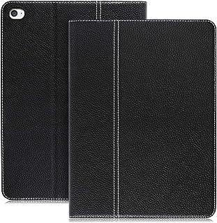 LOOF Genuine 本革 iPad ケース iPad ケース iPad mini 5 2019 / iPad mini 4 ケーズ シンプル 手帳カバー ブック型カバー 牛革 スタンド機能付き オートスリープ 対応