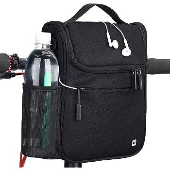 Rhinowalk Bike Handlebar Bag Multifunction Bicycle Front Tube Bag with Shoulder Strap Raincover
