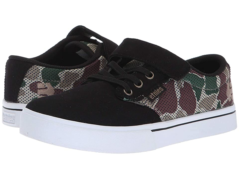 etnies Kids Jameson 2 V (Toddler/Little Kid/Big Kid) (Black/Camo) Boy