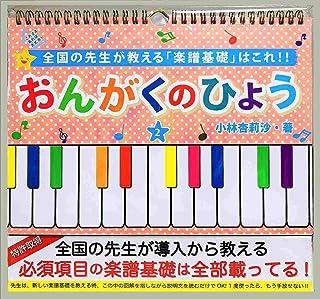 小林杏莉沙ピアノ教室 おんがくのひょう(卓上) 2 AKTA-2B