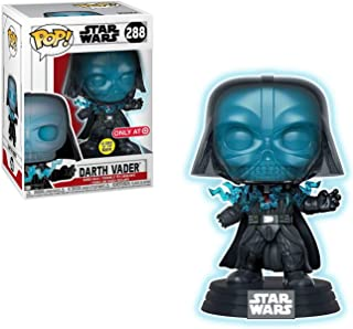 POP! Funko Glow in The Dark Electrocuted Darth V (Target Exclusive)