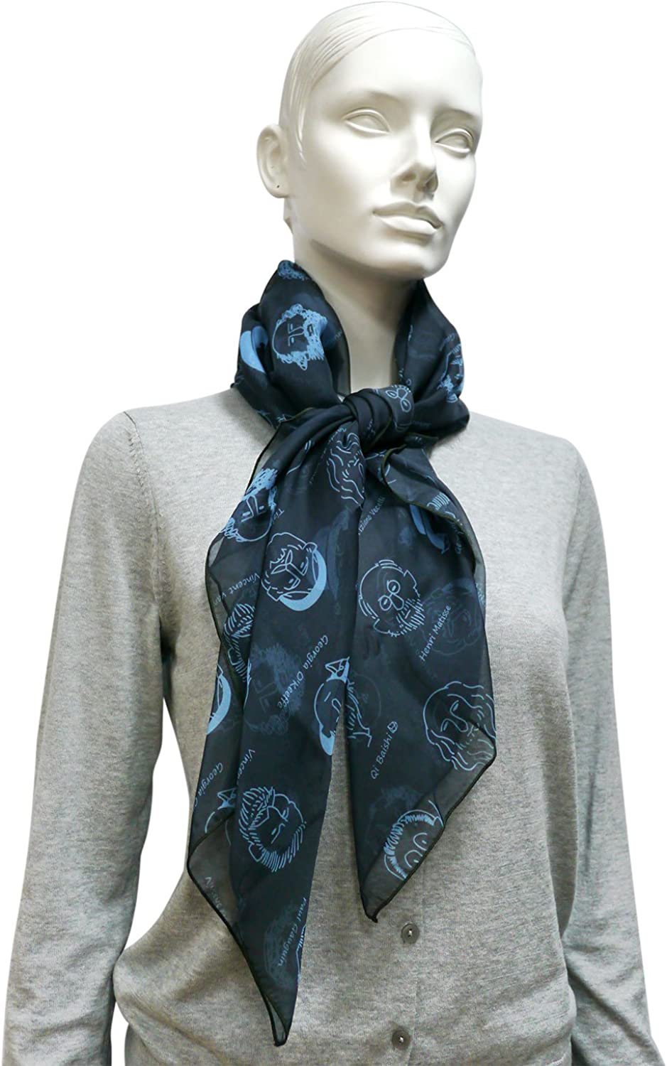 Georgia O'keeffe and other artists Scarf (for Men and Women)