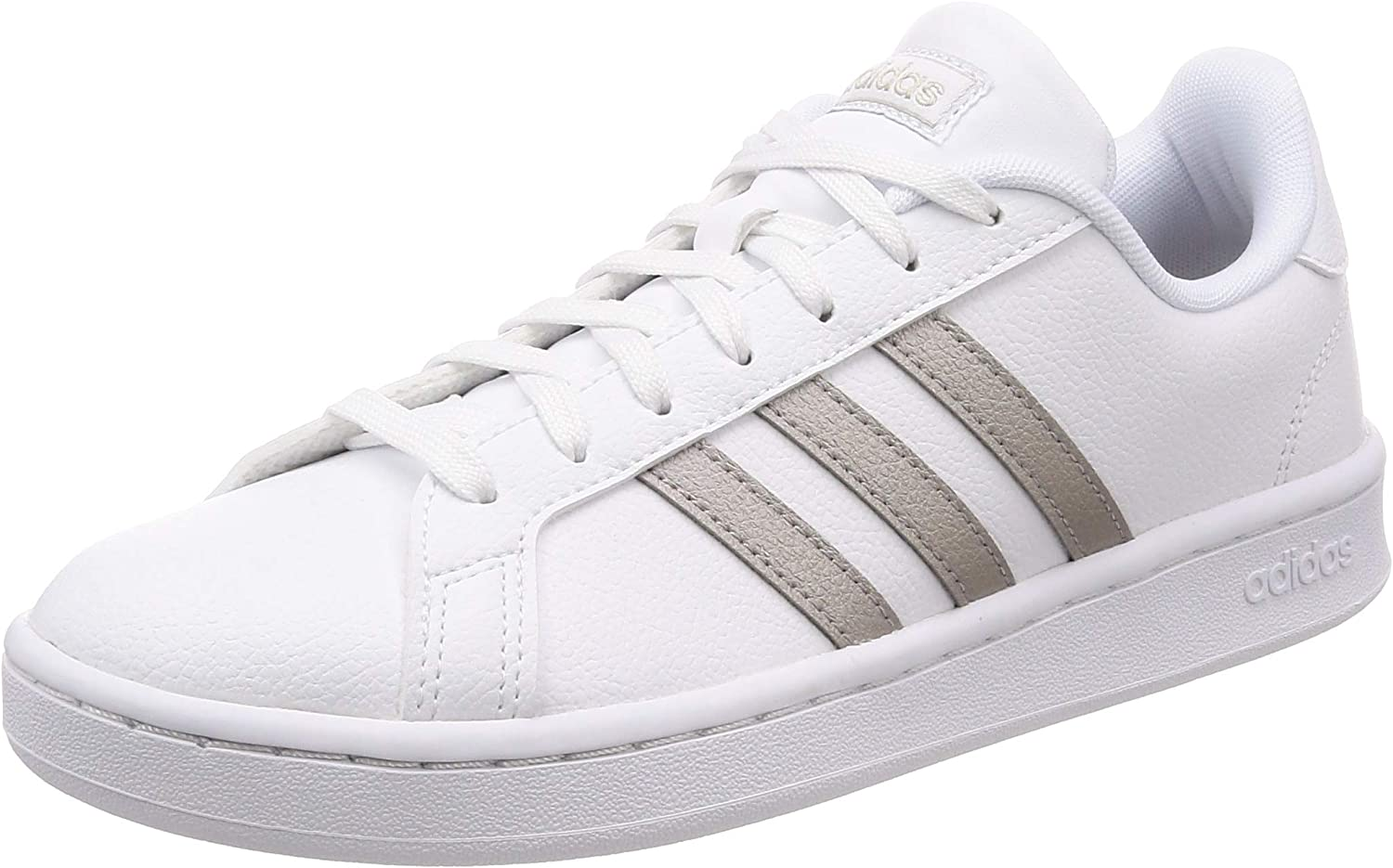 Adidas White Sneaker and Silver Grand Court