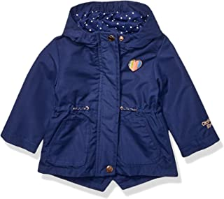 OshKosh B'Gosh Baby Girls Lightweight Anorak Jacket with Jersey Lining