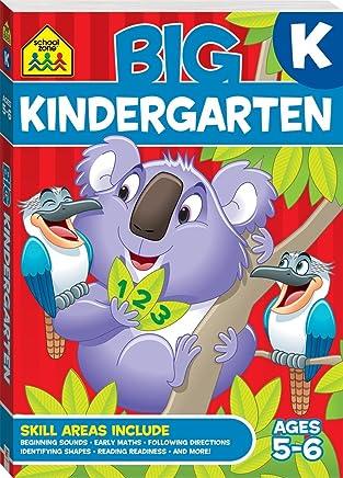 School Zone Big Kindergarten Workbook