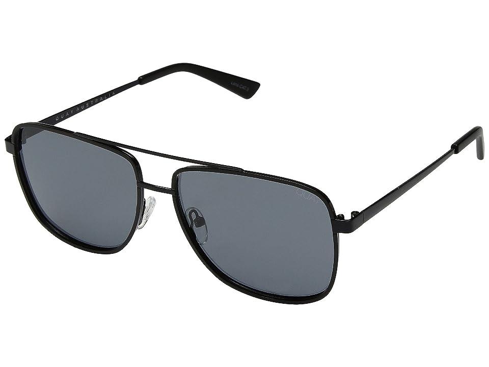 QUAY AUSTRALIA Modern Times (Black/Smoke) Fashion Sunglasses