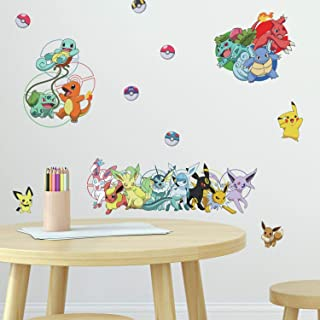 RoomMates Pokemon Favorite Character Peel and Stick Wall Decals