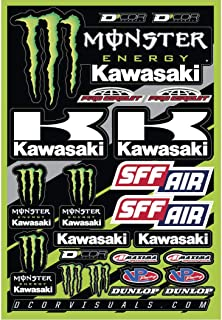DCOR 40-20-116 Decal Sheet - Monster Kawasaki 2016