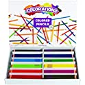 240-Pack Colorations Presharpened Hexagon Colored Pencils