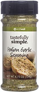 Tastefully Simple Italian Garlic Seasoning - Perfect for Pasta, Pizza, Sauces, Soups and Poultry - 4.75 oz