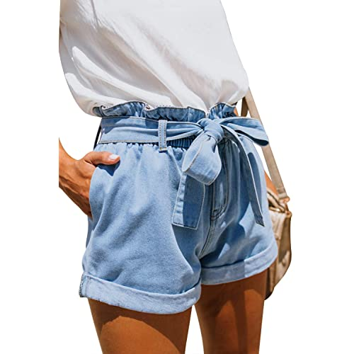 6 Size 4 7 Boys Feedback Blue Denim Shorts pants jean shorts