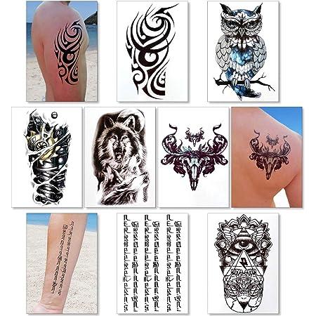 8 Tatuajes Temporales Para Hombres Tatuaje Falso De Bicicleta Diseños De Moda Para Brazos Hombros Pecho Y Espalda Tatuajes Para Niños Arte Corporal Pegatinas De Tatuajes Impermeables Marte Beauty