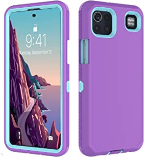 Jmart for LG K92 5G Case, LG K92 5G Phone Case Heavy Duty Shockproof Protective Drop Protection Hard Shell Hybrid Anti-Slip Rubber Bumper Cover Solid Sturdy Phone Case for LG K92-Purple