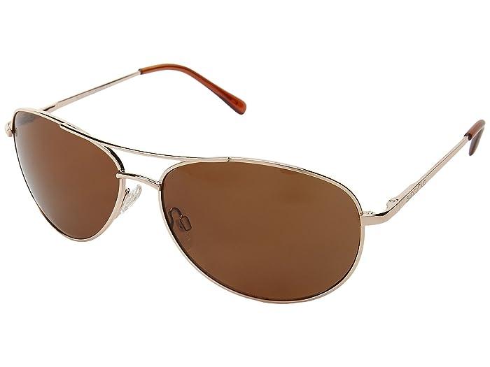 SunCloud Polarized Optics Patrol (Gold/Brown Lens) Sport Sunglasses