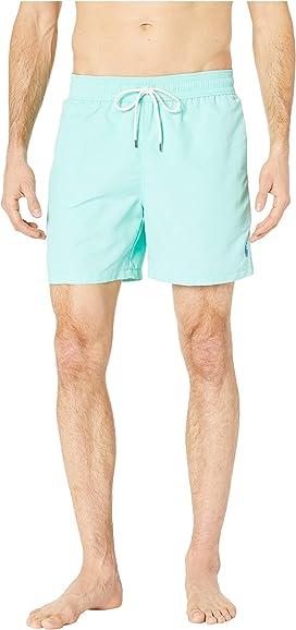 e674c25985 3. Polo Ralph Lauren. Midnight Floral Traveler Swim Trunks. $85.00. Nylon Traveler  Swim Shorts