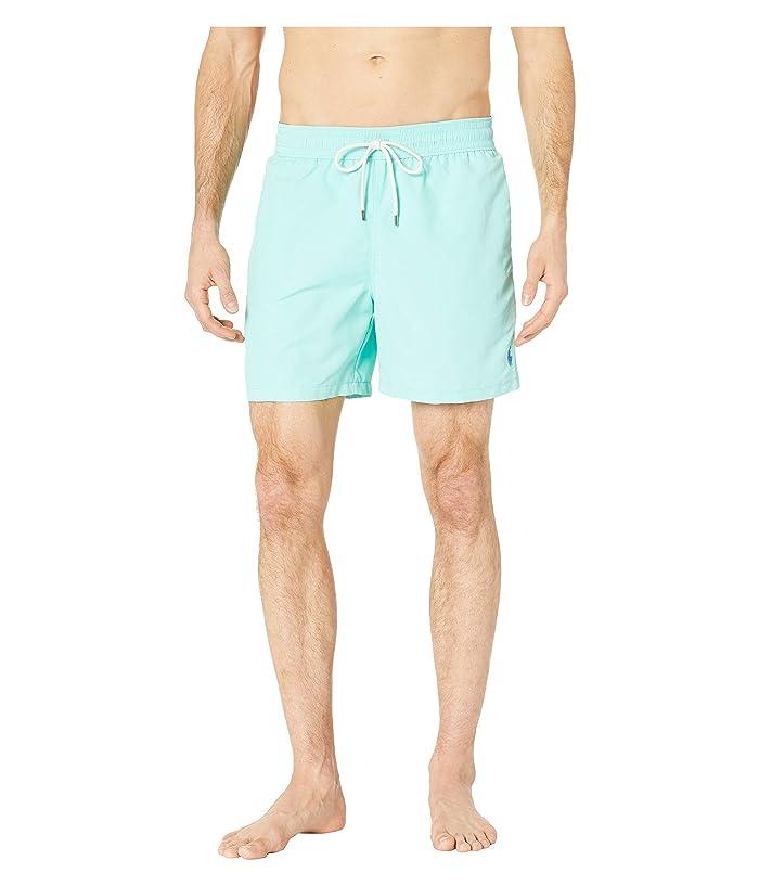 Polo Ralph Lauren Nylon Traveler Swim Shorts (Soft Jade) Men