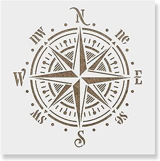 Best small compass stencil Reviews