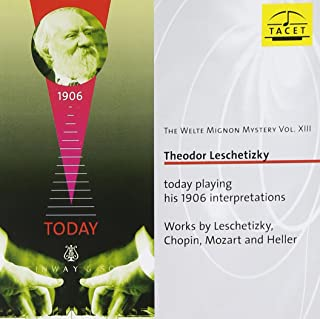 Welte-Mignon Mystery 13: Theodor Leschetizky