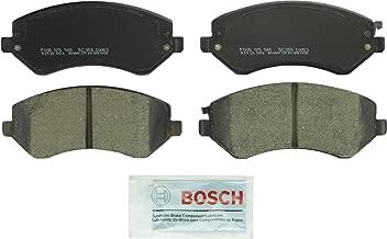Bosch BC856 QuietCast Premium Ceramic Disc Brake Pad Set For Chrysler: 2003-2007 Town & Country, 2001-2003 Voyager; Dodge: 2001-2007 Caravan, 2001-2006 Grand Caravan; Front