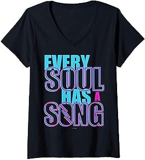 Femme Julie And The Phantoms Every Soul Has A Song T-Shirt avec Col en V
