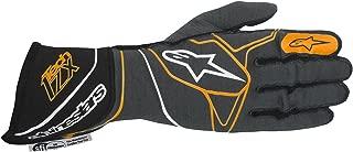 Alpinestars 2017 Tech 1-ZX Glove - Size X-Large - Anthracite/Black/Orange Fluorescent - SFI 3.3 LEVEL 5/FIA 8856-2000 (3550317-1042-XL)