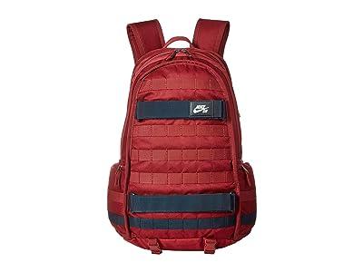 Nike SB RPM Backpack (Team Red/Dark Obsidian/White) Backpack Bags