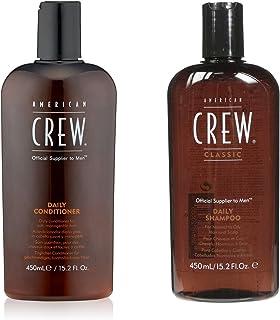 AMERICAN CREW Daily Shampoo and Conditioner, 15.2 fl. oz.